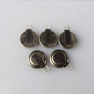 5pcs KANEBO PAS614L VL3 3V Lithium Button Coin Cell Rechargeab le