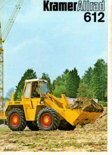 Kramer Allrad 612 Technische Daten Prospekt