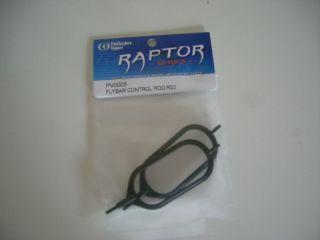 TT Raptor 30/50 550/620 Paddelringe Paddelgestänge PV0005