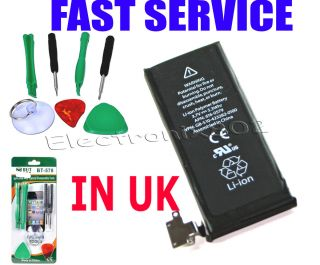Apple iPhone 4S Replacement Battery APN 616 0579 1430mAH T1 Tools Torx