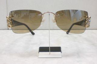 Original Daniel Swarovski Sonnenbrille S624 24 Farbe 6053 gold braun