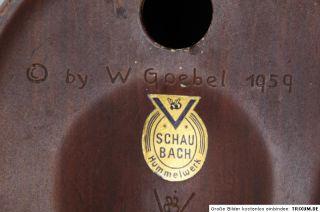 schöne Frau Goebel 1959 Schaubach Hummelwerk Mai 632