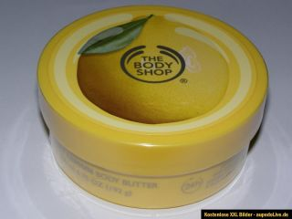 Sweet Lemon Body Butter Körperbutter THE BODY SHOP Feuchtigkeitscreme