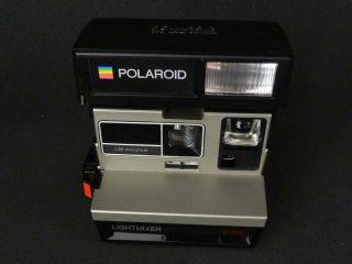 Polaroid 630 Lightmixer mit Blitz TOP ZUSTAND Sofortbildkamera mit