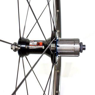 Fulcrum Racing 5 Laufradsatz Road Rennrad schwarz + Zubehör Shimano