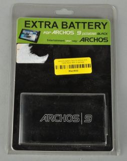 ARCHOS Battery Pack for Archos 9 PC Tablet Black NEW in package