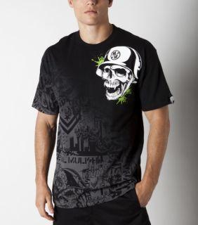 Metal Mulisha Gunfire Tee T Shirt schwarz black blk günstig Gr. s m l