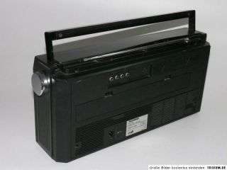 TELEFUNKEN RC 760 Ghettoblaster Boombox Radiorecorder