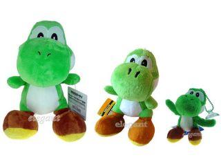 Nintendo Super Mario Bros 3 Grün Yoshi Plüsch Doll Set