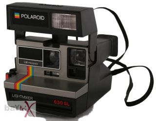 Polaroid 600 Land Camera Lightmixer 630 SL Fotokamera
