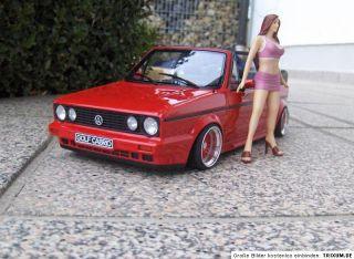 VW Golf 1 Cabrio 15 BBS RS Echt Alufelgen Tuning 118 limitiert