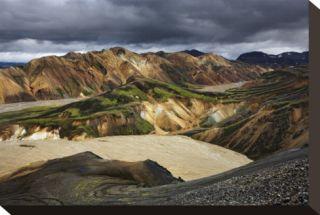 Iceland 200 Stretched Canvas Print by Maciej Duczynski