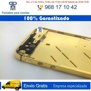 MARCO CHASIS METALICO PARA IPHONE 4 Ó 4S 4G 4GS DE METAL DORADO
