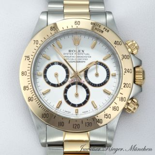 ROLEX UHR DAYTONA STAHL GOLD 750 CHRONOGRAPH AUTOMATIK Armbanduhr