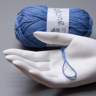 Lana Grossa Cotone 011 blu 50g