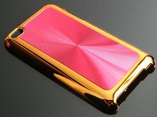 iPod touch 4G Hülle Tasche Schutzhülle Cover Chrom Gold
