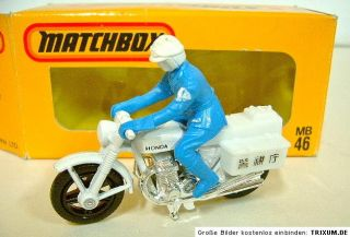 Matchbox SF J 46 Honda CB750 Police Bike Japanbox