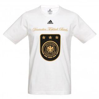 Adidas Damen DFB Tee W T Shirt U38972 weiss 2278