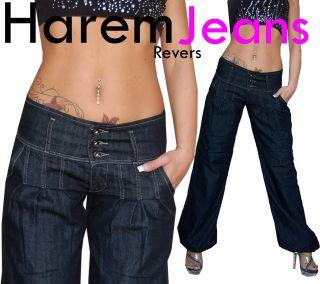 Pumpjeans Harem Aladin Pump Jeans Hose XS 34   XL 42