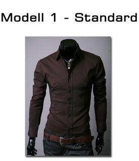 MERISH Herren Hemd 5 MODELLE S XXL Slim Fit Neu T Shirt Polo Style