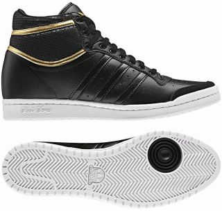Adidas Originals Top Ten Hi Sleek Heel Black Schuhe Sneaker Damen