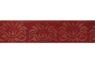 ROLLE Tapeten Bordüre  Palazzo  Ornament Bordeaux Rot Gold