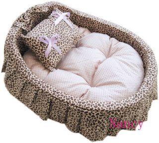 Princess Pet Dog Cat Handmade Bed House sofa 4 Color