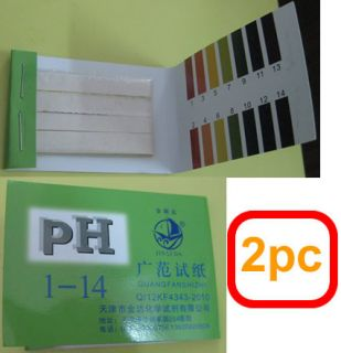 160 Full Range 1 14 pH Test Paper Strips Litmus New