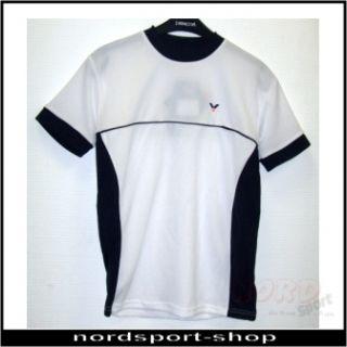 Badminton T Shirt white, Freizeit, T Shirt, Gr. S   666
