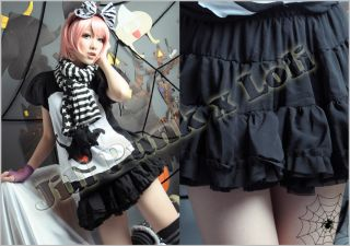 Lolita Punk Kera Avril fever California Girl tiered ruffle petticoat