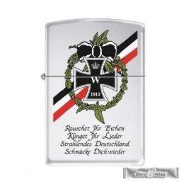 ORIGINAL ZIPPO Rauschet Ihr Eichen   Eisernes Kreuz