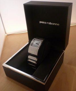 PACO RABANNE UHR Damen silver PRD674S/BM mit OVP NEU Montre Watch