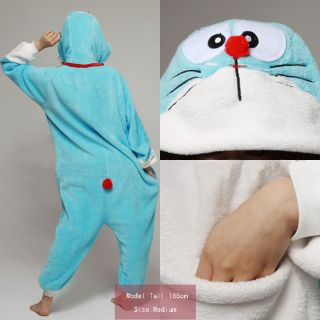 Pikachu Pokemon Panda All in one Pyjamas Hoodie JP Kigurumi Pajamas