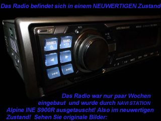 Autoradio Alpine CDE  9882 Ri  / USB / iPod / iphone Audi B4 B5 B6