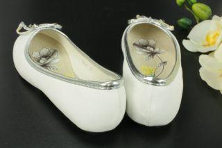Weiße Ballerina Mädchen Ballerinas Schuhe gr 24