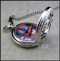 One Piece Kette Uhr ACE design Uhr chain watch Manga Comics Brand NEU