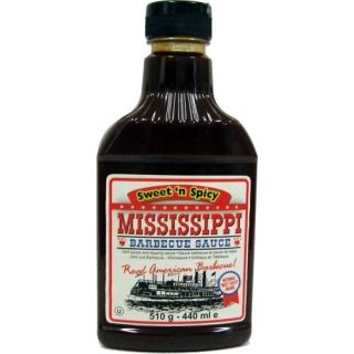 Mississippi Barbecue Sauce Sweetn Spicy 440ml (Grill Sauce)