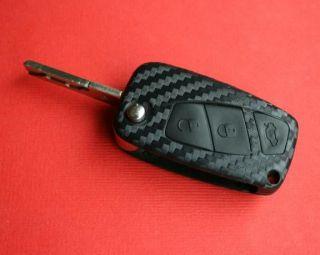 Fiat Stilo Bravo Abarth Schlüsseldekor Carbonoptik