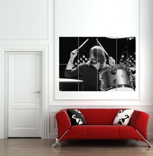 DAVE GROHL DRUMMING FOO FIGHERS NIRVANA GIAN POSER PRIN B868