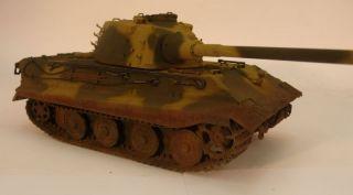 deutscher schwerer Panzer E 75 gebaut / German WWII heavy Tank E75