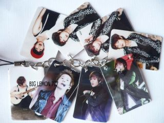 OWEN ~SHINEE Korean Band Mobile /Cell Phone Strap Keychain Keyring N6