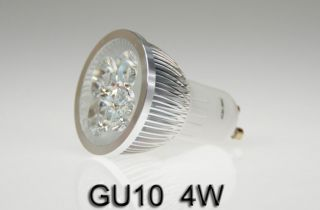 4x 3W 4W HIGH POWER LED SPOT Strahler Lampe Licht SMD GU10 warmweiss