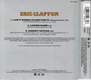 CD   ERIC CLAPTON / I AINT GONNA STAND FOR IT [MCD]
