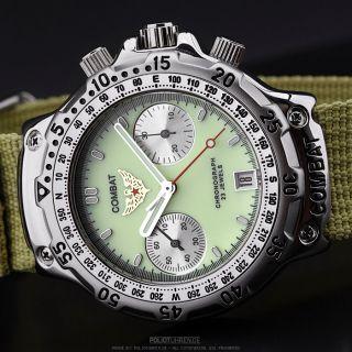 POLJOT | Combat Chronograph 3133 Russian mechanical watch