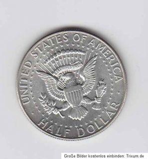 USA Amerika America 1/2 Dollar Kennedy 1966 (Ag 400) VZ