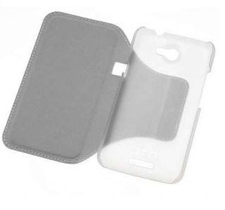 ORIGINAL HTC ONE X HARD SHELL COVER TASCHE STANDFUNKTION HC V701 WEIß