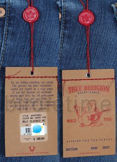 198 TRUE RELIGION JEANS BILLY CLASSICS SHORT FUSE
