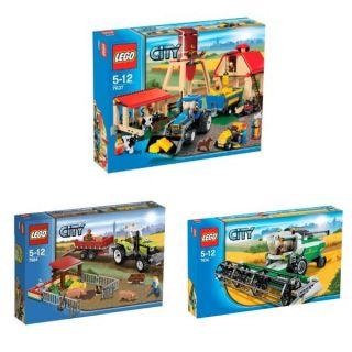 Lego City Bauerhof Set 7636 7637 7684 NEU OVP
