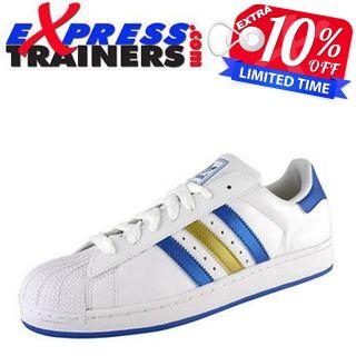Adidas Originals Mens Superstar II Trainers *Authentic*