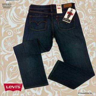 Levis Jeans Demi Curve Straight 0031 Medium Indigo Damenjeans Damen